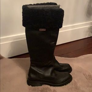 Hunter Leather Boots